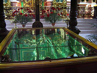 Incorruptibility - Relics of Anthony, John, and Eustathios at the Orthodox Church of the Holy Spirit in Vilnius, Lithuania.