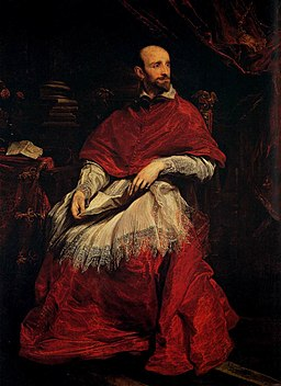Anthony van Dyck - Portrait of Cardinal Guido Bentivoglio - WGA07380