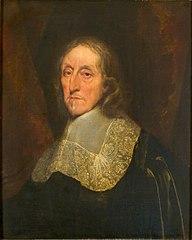 Portret van een man (Oliver Cromwell)