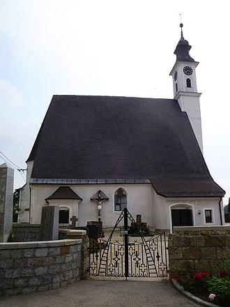 Antiesenhofen - Image: Antiesenhofen Pfarrkirche