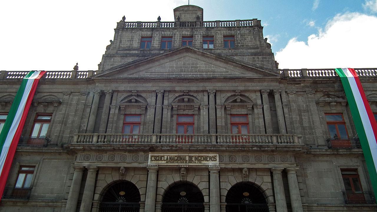 Archivo Antiguo Colegio De Mineria Escuela De Ingenieros