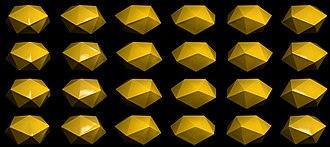 Square antiprism - Image: Antiprisma quadrado torcido
