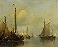 Antonie Waldorp - Vissersboten op kalm water.jpg