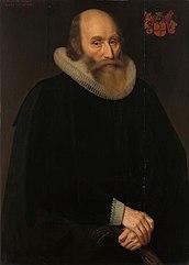 Portrait of Antonides van der Linden (1570-1633), Amsterdam physician