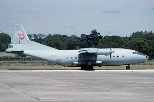 Antonov An-12BP, Slovakia - Air Force AN2219239.jpg