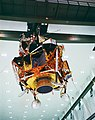 Apollo 11 Lunar Module being moved for mating to rocket (S69-32396).jpg