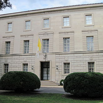 Apostolic Nunciature to the United States - Image: Apostolic Nunciature Washington DC