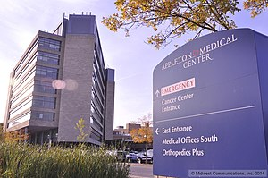 ThedaCare Regional Medical Center-Appleton - ThedaCare Regional Medical Center-Appleton, taken September, 2014