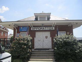 Appomattox, Virginia - The Appomattox Visitor Center in July 2011