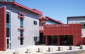 San Mateo Union High School District - Image: Aragon High School San Mateo California