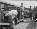 Arcadia, California. Evacuees of Japanese ancestry arriving at the Santa Anita Assembly center from . . . - NARA - 537389.tif