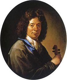 Arcangelo Corelli, um 1700, Porträt von Jan Frans van Douven (Quelle: Wikimedia)