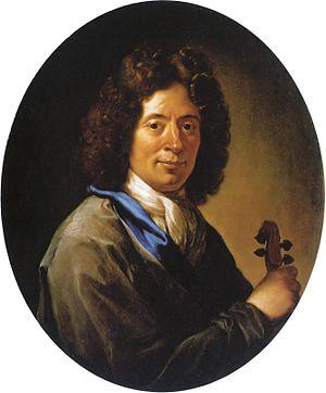 Arcangelo Corelli - Arcangelo Corelli Portrait by Jan Frans van Douven