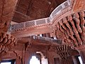 Architectural Detail of the Jewel House - Fatehpur Sikri - Uttar Pradesh - India - 02 (12635238723).jpg