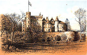 Helensburgh - Ardencaple Castle prior to 1879