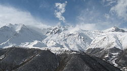 Arevik National Park and Meghri mountains in winter.jpg