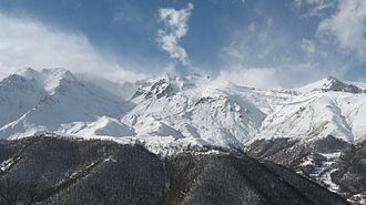 Syunik Province - Arevik National Park at the mountains of Syunik