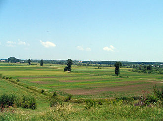 Argeș County - Landscape in central and southern Argeș County