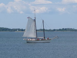 Argia (schooner) - Argia in 2010.