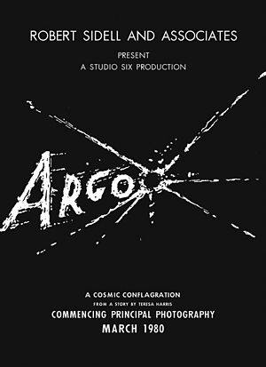 John Chambers (make-up artist) - Movie poster of fake sci-fi film Argo, created as part of the cover story for Canadian Caper