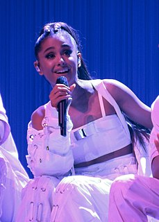 Ariana Grande American singer, songwriter, and actress