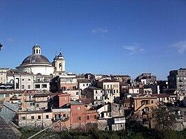 Blick auf die Altstadt von Ariccia
