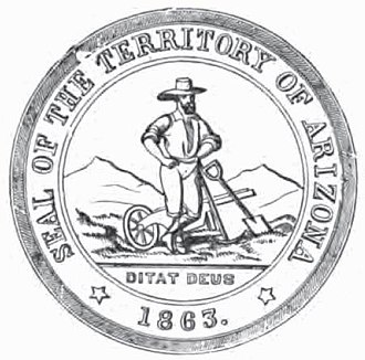 Seal of Arizona - Original Territorial seal