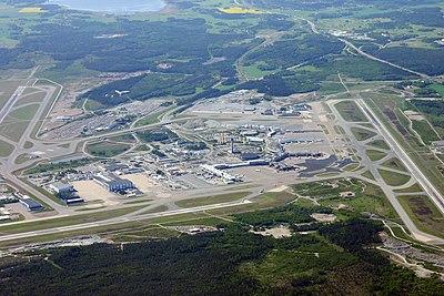 Arlanda från luften