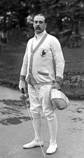 Armand Massard French fencer