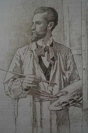 Carabobo - Arturo Michelena, self-portrait
