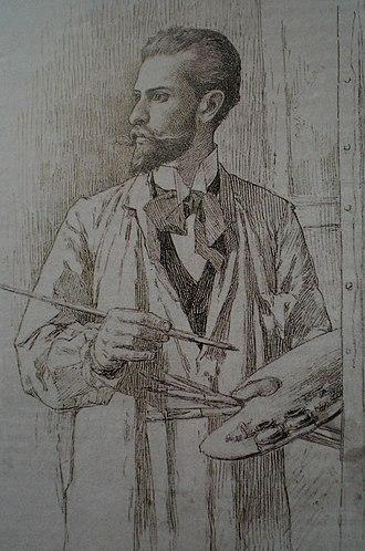 Carabobo - Arturo Michelena, self-portrait