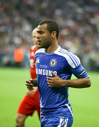 Ashley Cole - Cole playing for Chelsea during the 2012 UEFA Champions League Final.