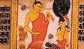 Astasahasrika Prajnaparamita Descending Trayastrimsa Heaven.jpg
