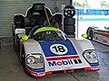 Aston Martin AMR1 Donington pits.jpg