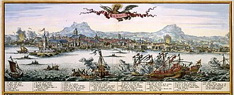 Siege of Candia - The siege of Candia by N. Visscher, ca. 1680