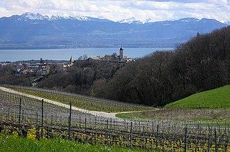 Aubonne - A view of Aubonne