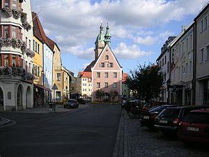 Auerbach in der Oberpfalz - Image: Auerbach innenstadt
