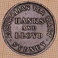 Australia -Commemorative Halfpenny Token - 1855 obverse.jpg