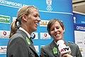 Austrian Olympic Team 2012 a Doris Schwaiger, Stefanie Schwaiger 01.jpg