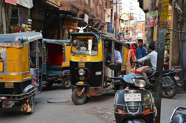 Auto rickshaw, Jodhpur.jpg