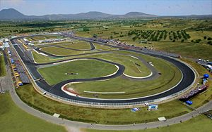 Autódromo Miguel E. Abed - Aerial view.