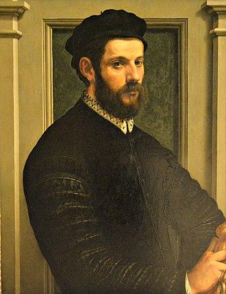 Francesco de' Rossi - Self portrait (1540 - 1549), Museo di Capodimonte, Naples
