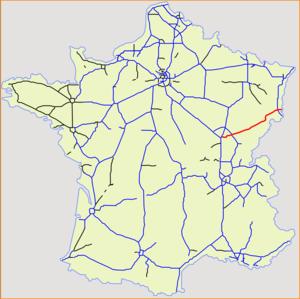 A36 autoroute - Image: Autoroute 36