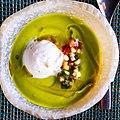 Avocado gazpacho in Río Grande, Puerto Rico.jpg