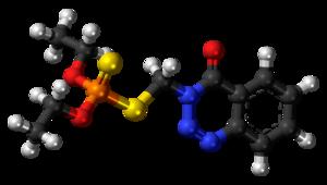 Azinphos-ethyl - Image: Azinphos ethyl 3D balls