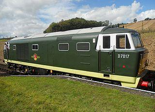 British Rail Class 35 class of 101 B′B′ 1700hp diesel-hydraulic locomotives