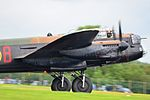 BBMF Lancaster at RAF Fairford 2012 Flickr 7584558954.jpg
