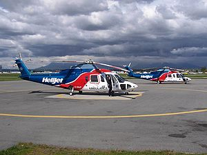 British Columbia Ambulance Service - BCEHS helicopters based in Vancouver