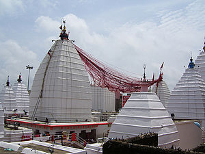 Baidyanath Temple - Pyramid shaped Shikhara of the temple