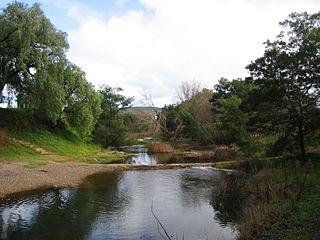 Lerderderg River river in Victoria, Australia